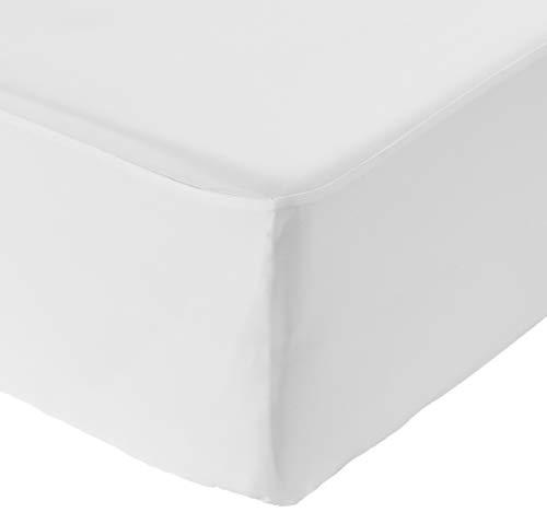 Amazon Basics - Funda hipoalergénica para colchón - 90 x 190 x 30.5 cm