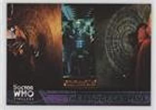 The Pandorica Opens (Trading Card) 2016 Topps Dr. Who Timeless - [Base] - Green Foil #75