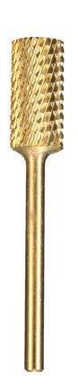 KINGDUO Acier Inoxydable Lisse Nail Drill Bits Machine Manucure Outils Polonais Fichier Meulage 3/32-6