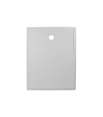 Porcelanosa - Plato De Ducha Rectangular De Resina Antideslizante - Derecha - 120 x 89,5 x 4 cm