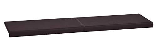 animal-design L Klemm-Kissen/Sitz-Kissen 115cm breit weich gepolstert - verrutscht Nicht - viele Farben, Farbe:braun 101