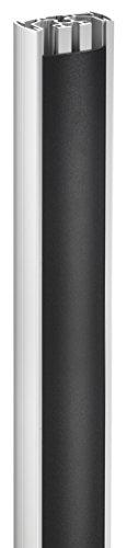 Vogel's PUC 2308 Plafondprofiel, 80 cm, max. 30 kg, zilver-zwart