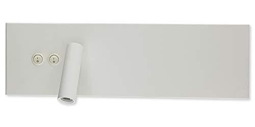 Xana Lighting - Aplique Pared Cares Lectura 3 + 4w LED Color Blanco