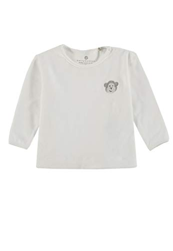 Bellybutton mother nature & me Sweatshirt 1/1 Arm Maillot de survtement, Blanc (Cloud Dancer|White 1610), 1 Mois Mixte bébé
