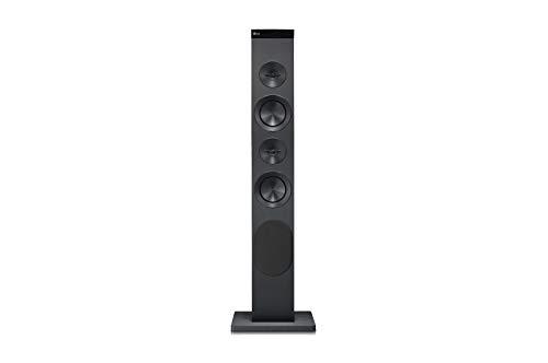 LG RK1.AEUSLLK - Torre de Sonido (100 W, USB, Bluetooth, Conducto Bass Refflex, Radio FM)
