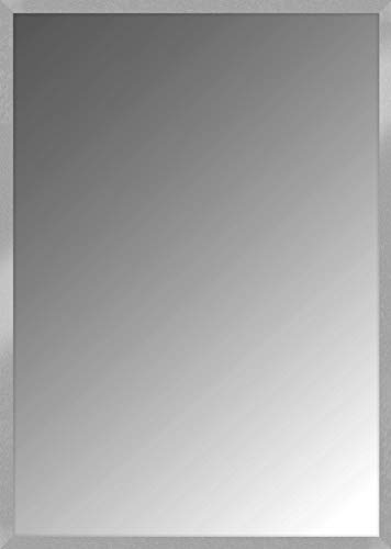 Nielsen Home Wandspiegel Oslo, Silber, MDF, ca. 50x70 cm