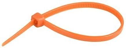 Concordia Technologies Act100x2.5o Cable Tie 100 X 2.50mm Orange 100/pk