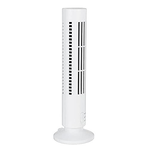YYGQING Portátil 5V USB Aire acondicionado eléctrico vertical silencioso ventilador ventilador de verano refrigerador de aire para la oficina en casa Torre de enfriamiento Ventilador Ventilador de mes