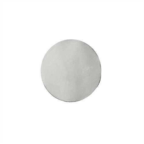 NKlaus 1 Pieza Plato Quemador de Plata para Mezcla de Incien
