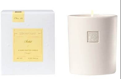 Aromatique Animer and price revision Sorbet Cube Dedication 12 oz Glass Scented Jar Candle