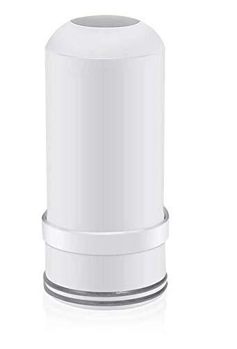 Cheelom Cartucho de repuesto del grifo del elemento del filtro de agua, sistema de filtración ACF reciclable de 7 capas, cerámica duradera, purificador de agua del grifo lavable para cocina y baño 1 pcs