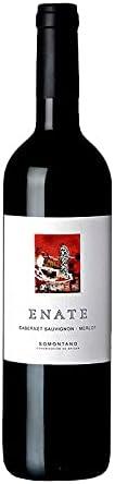 Vino Tinto Enate Cabernet Sauvignon-Merlot de 50 cl - D.O. Somontano - Bodegas Enate (Pack de 1 botella)