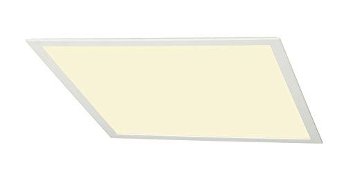 SLV LED PANEL Indoor-Lampe Aluminium/Acrylglas Weiß Lampe innen, Innen-Lampe