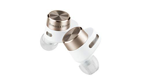 Bowers & Wilkins PI7 True Wireless Noise Cancelling - Cuffie in-ear con connessione a 24 bit, Bluetooth, aptX, cancellazione attiva del rumore (ANC) e microfoni integrati