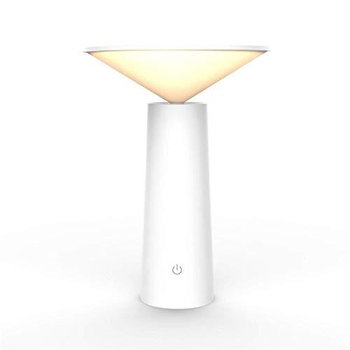 Lámpara De Escritorio LED Luz De Mesa De ángulo De Ajustes De Lectura Táctil Recargable Portátil Trabajo