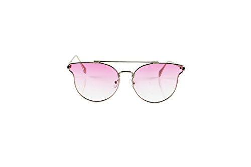 Loomiloo merk zonnebril voor dames retro designer vintage gespiegeld vrouwen