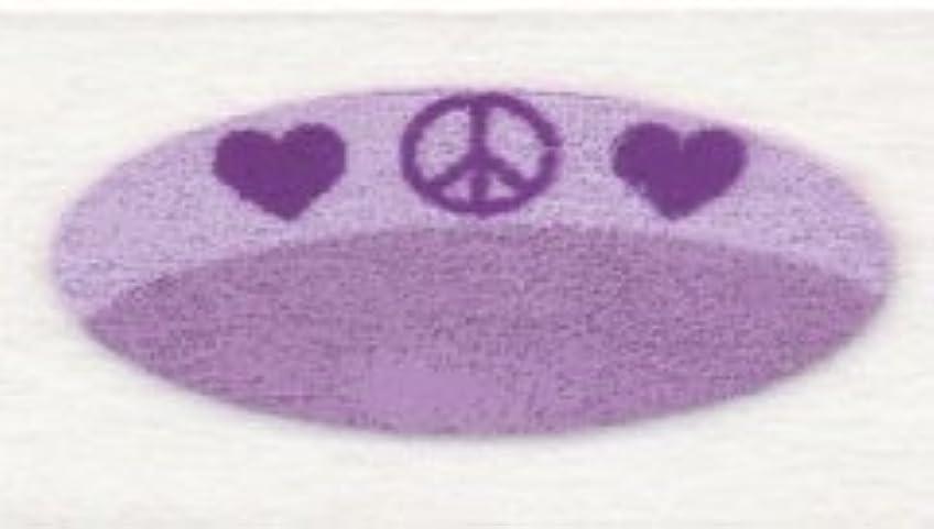 デッド汚すカバレッジ米国シネマシークレット社製 ピース&ラブ 貼るインスタントアイシャドウ(カラーオン) Peace And Love CO073