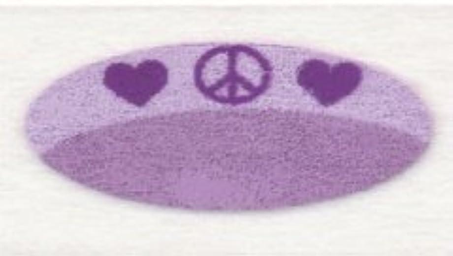 ノイズ彼らのもの居住者米国シネマシークレット社製 ピース&ラブ 貼るインスタントアイシャドウ(カラーオン) Peace And Love CO073