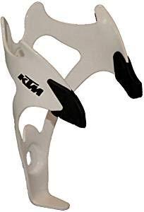 KTM MTB Fahrrad Aluminium Flaschenhalter - Wave 1 - Weiß