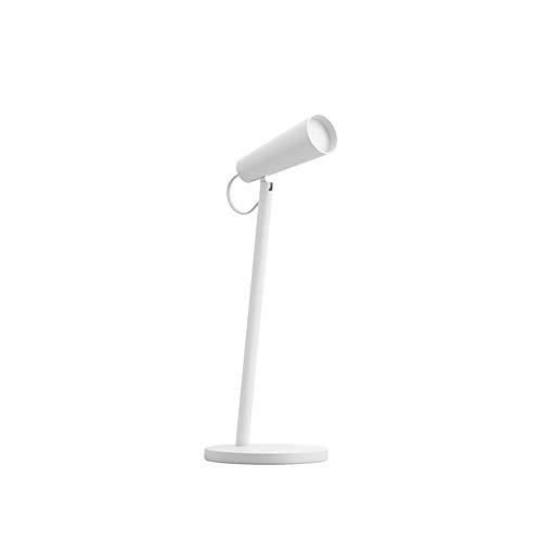 L-sister diseño Unico Lámpara de Mesa de Carga Lectura de Escritorio Lámpara de Estudio Tabla Oficina Mesa Feoful Portátil Noche Noche débil 120 ° Rotación Fácil de Usar