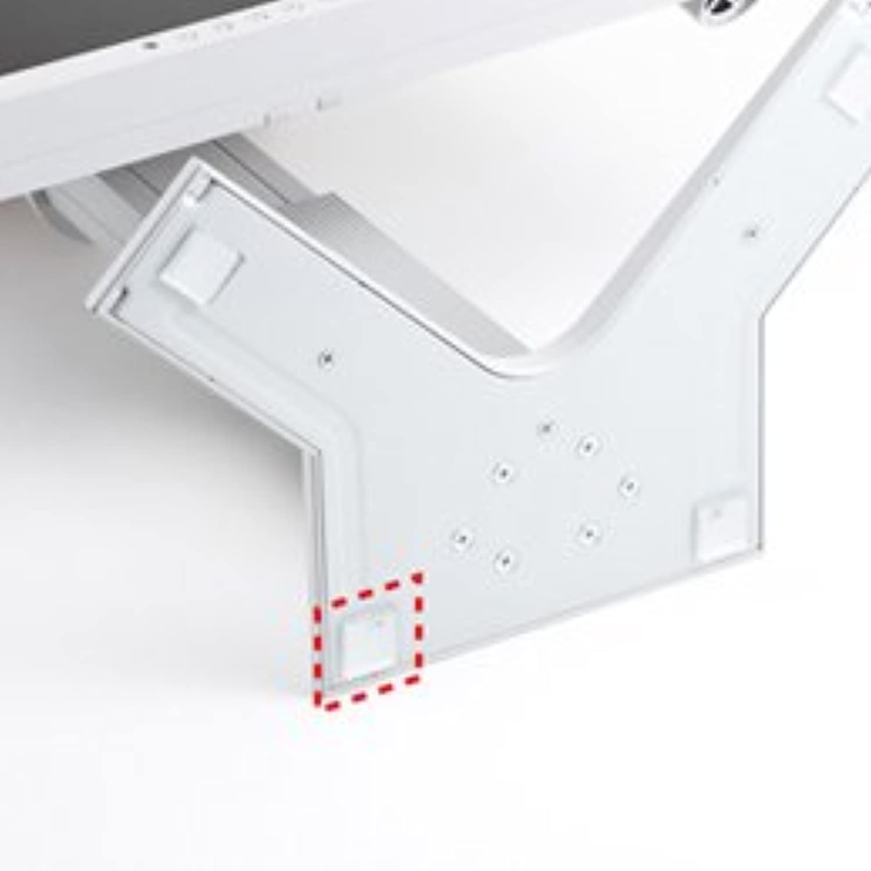 【まとめ 5セット】 サンワサプライ 透明耐震ゴムG-BLOXゲル(20mm角4枚入り) QL-E85