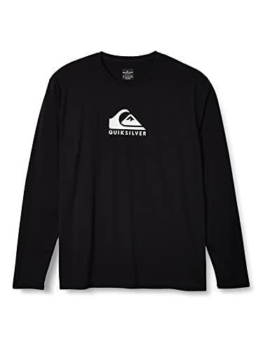 Quiksilver Camiseta de manga larga para hombre Solid Streak