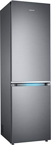 Samsung RB8000 RL36R8739S9/EG Kühl-/Gefrierkombination, 202 cm, A++, 357 L, Premium Edelstahl Look, Kitchen Fit, Cool Select Plus, Grifflicht