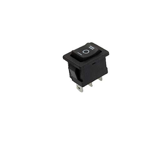 X-DREE 3 Pin SPDT ON/OFF/ON CA 250V 8 / 1A AC 125V 10A Interruptor de barco oscilante (Interrupteur à bascule SPDT ON/OFF/ON AC 250V 8/1A AC 125V 10A