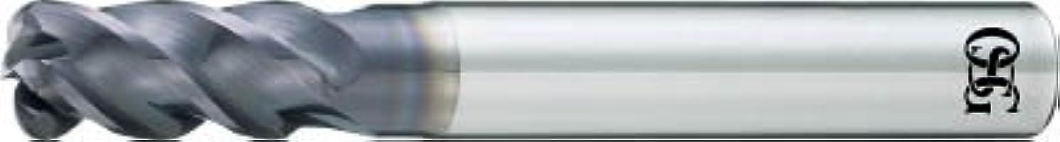 現像贅沢アカデミックOSG  FXコート 4刃 チタン合金加工用不等リードエンドミル UVX‐TI‐【UVXTI4FL16XR1X48】 (販売単位:1本)