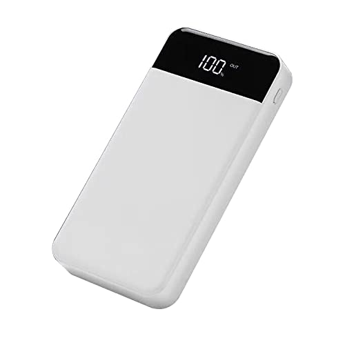 GLNuoke Power Bank - Batería externa de 4 puertos USB, 20000 mAh, batería externa de alta capacidad, para Apple iPhone 6, 7, 8 Plus, X Samsung Xiaomi (color para Android tipo-C)