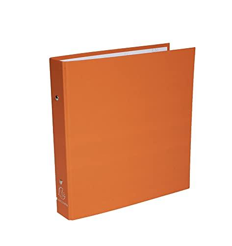 Exacompta 650E Classeur Basique Ecolier 17 X 22 Carton Recouvert Polypro Rigide 2 Anneaux de 30 dos de 40 mm Coloris aleatoire