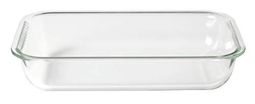 Leonardo Gusto Ofenform, 2,3 l, B/H/T: 31/6,5/20 cm, spülmaschinengeeignet, Klarglas, 034303