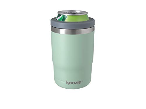 Koozie Stainless Steel Double Wall Vacuum Insulated Triple Can Cooler, Bottle or Tumbler - 12 oz...