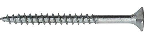 Gartenwelt Riegelsberger - Lot de 250 vis SWG Spax - 5 mm x 40 mm - Pour supports de poutre avec fixation latérale