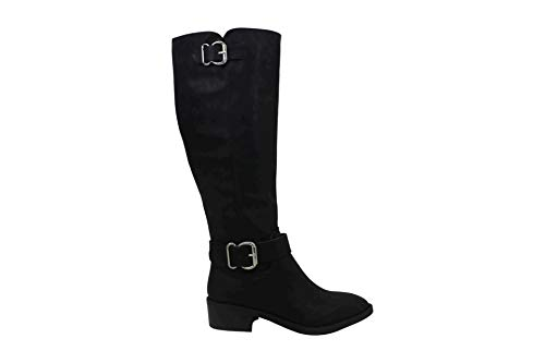 Madden Girl Women's Shoes Wit Closed Toe Knee High Riding, Black Paris, Size 8.0