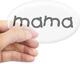 Mama Ovale Sticker Stickers Vinyl Auto Stickers Bumper Stickers Grappige Stickers voor Laptop, voor Kinderen, Kerstcadeaus