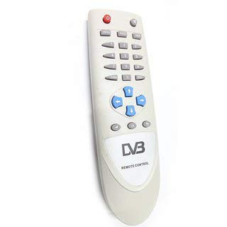 ERH India 1 pc Free Dish d2h DVB dth Remote Control for Set Top Box Unbreakable Remote DD Free Dish-DVB DTH Box Free to Air Set Top Box Remote