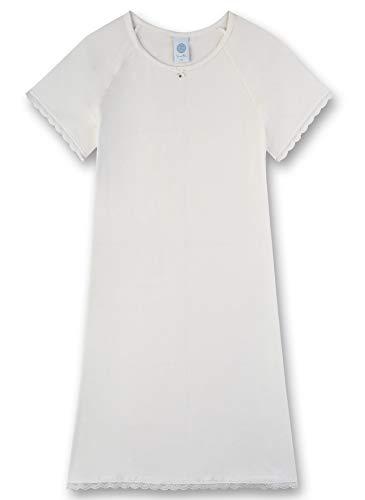Sanetta Mädchen Sleepshirt Nachthemd, Beige (beige 1427), (Herstellergröße:128)
