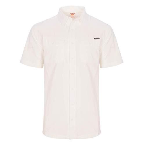 Trangoworld Shawar Chemise pour Homme L Blanc