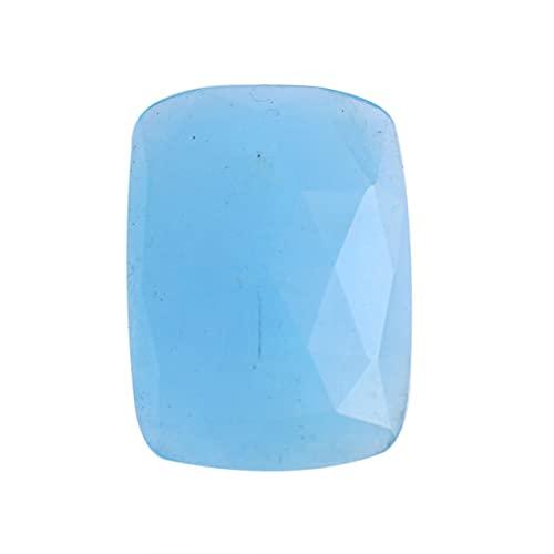 Ravishing Impressions Jewellery Cabujón de aguamarina natural, tamaño 27x20x7 mm, piedra preciosa de Brasil, colgante de cabujón, piedra lisa, piedra azul aguamarina para joyas, AG-3493