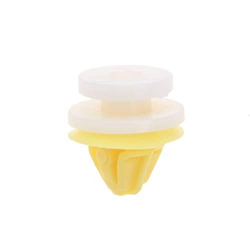 Mtsooning Kunststoff-Clips für Autotür, für Renault Clio, Megane, Scenic, Twingo, 50 Stück