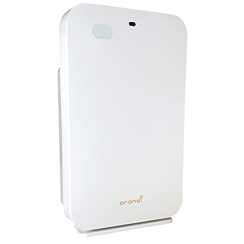 "Oransi OV200 Air Purifier, 15""x24""x7"", White"