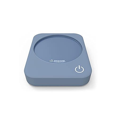 DJDLLZY Taza de café Calentador, Calentador de café eléctrico para escritorio, 3 Ajuste de temperatura Calentador de taza inteligente para calentamiento y calefacción Café, bebidas, leche, té y chocol