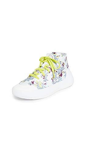 adidas by Stella McCartney Treino Mid-Cut Print Shoes Women's, White, Size 6.5