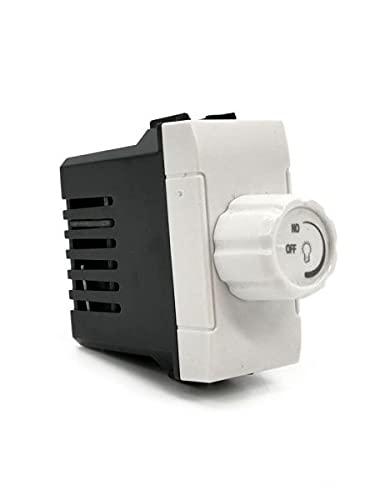 Interruptor regulador 500 W blanco compatible Matix