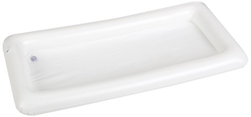 Greenco Inflatable Buffet and Salad Serving Bar With Drain Plug- White