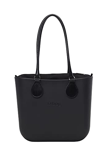O bag, Borsa Donna, Nero, Unica