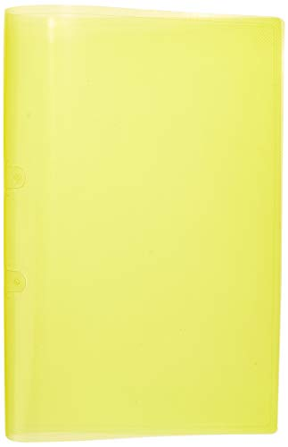 Pasta Grampo Trilho Plástica x 10 Unidades, Polibras 160606, Amarelo