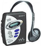 SONY Portable AM/FM Cassette Player (WM-FX241)