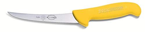 F. DICK ErgoGrip 82981131-02 - Cuchillo de deshuesar (hoja de 13 cm, acero X55CrMo14, inoxidable, 56° HRC)